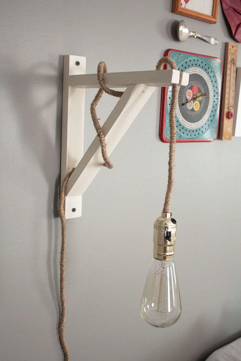 โคมไฟติดผนัง DIY ราคาถูกคุ้มค่า เหมาะสำหรับตกแต่งห้อง